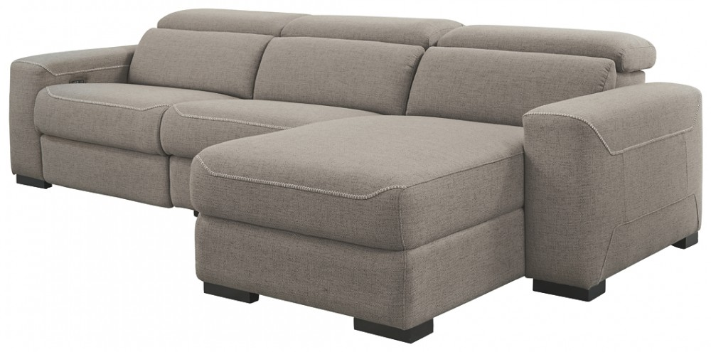 Mabton - 3-Piece Power Reclining Sectional