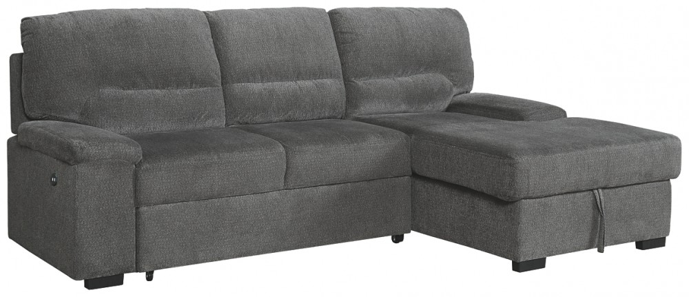 Yantis - 2-Piece Sleeper Sectional with Storage