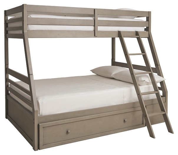 Lettner - Twin over Full Bunk Bed with 1 Large Storage Drawer