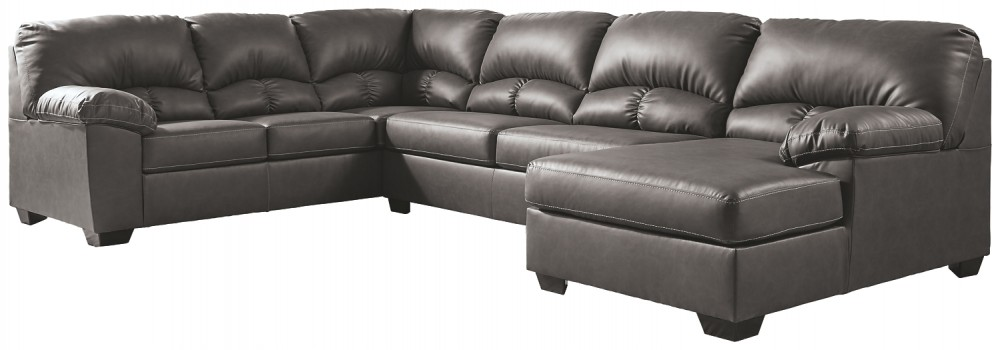 Aberton - 3-Piece Sectional with Chaise