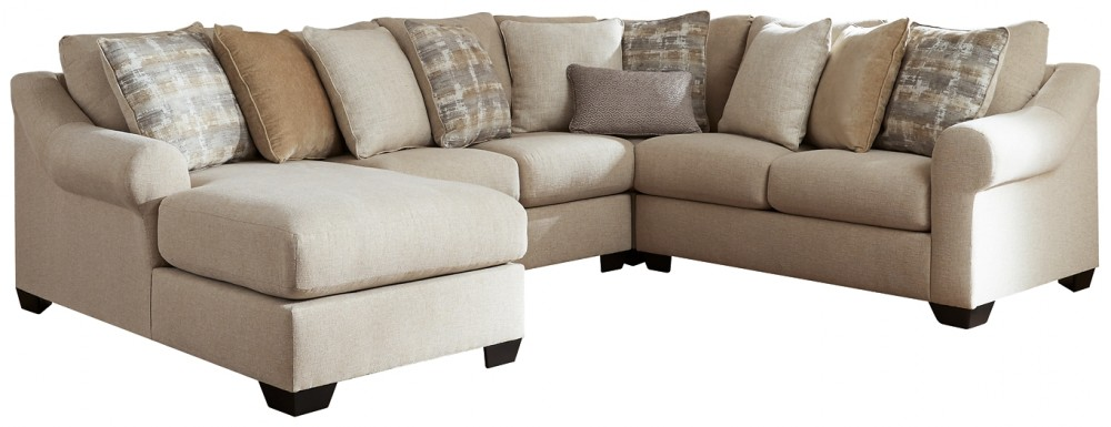 Ingleside - 4-Piece Sectional with Chaise