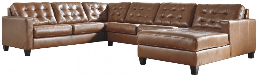 Baskove - 4-Piece Sectional with Chaise