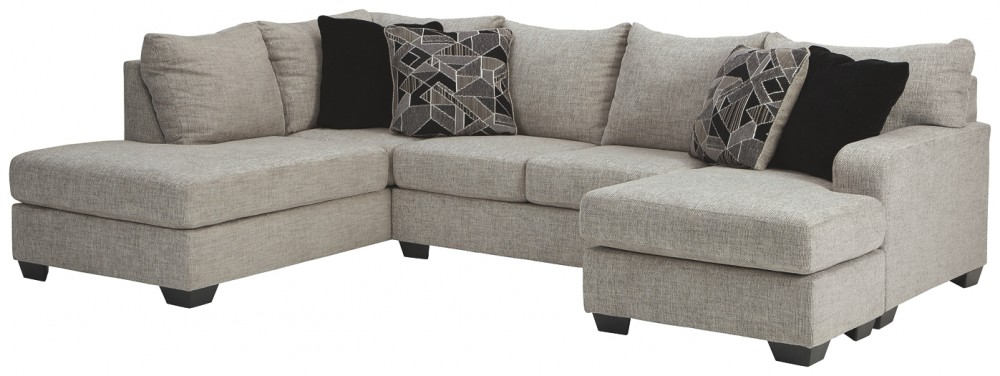 Megginson - 2-Piece Sectional with Chaise