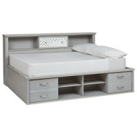 Arcella - Full Bookcase Bed