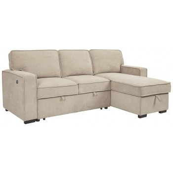 Darton - 2-Piece Sleeper Sectional with Storage