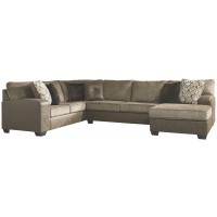 Abalone - 3-Piece Sectional with Chaise