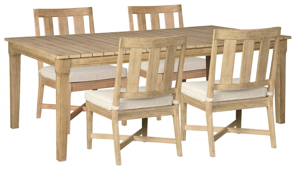 Clare View - Outdoor Dining Table and 4 Chairs