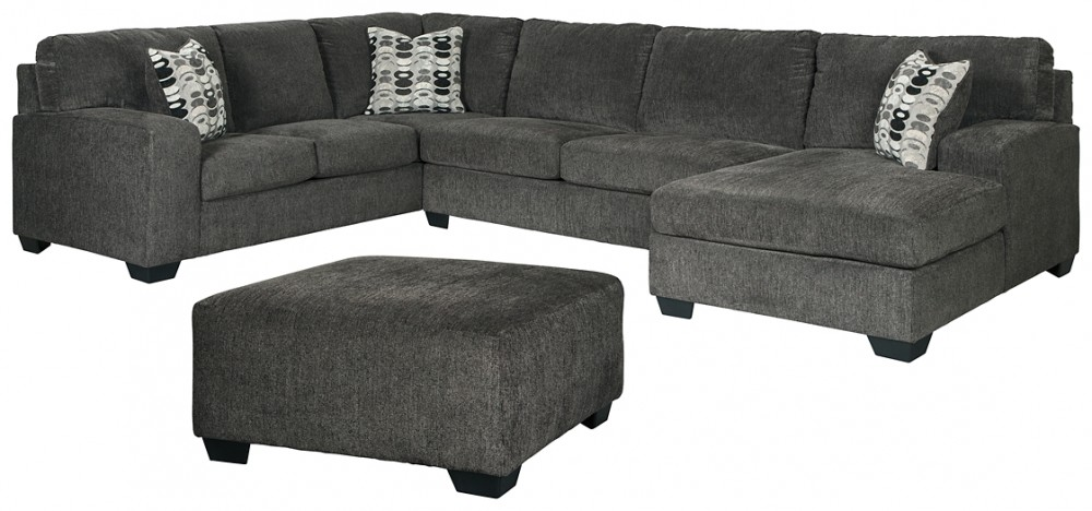 Ballinasloe - 3-Piece Sectional with Ottoman