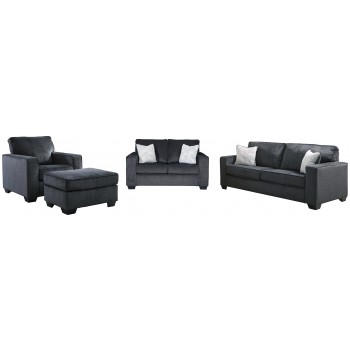 Altari - Sofa, Loveseat, Chair and Ottoman