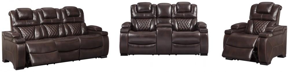 Warnerton - Sofa, Loveseat and Recliner