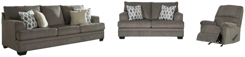 Dorsten - Sofa, Loveseat and Recliner