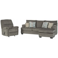 Dorsten - Sofa Chaise and Recliner