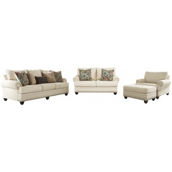 Harrietson - Sofa, Loveseat, Chair and Ottoman
