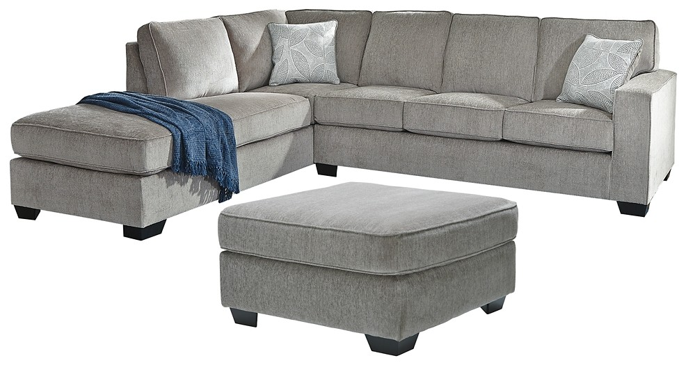 Altari - 2-Piece Sleeper Sectional with Ottoman