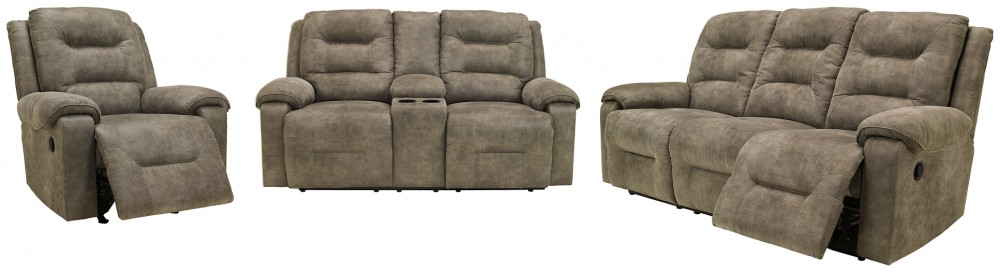 Rotation - Sofa, Loveseat and Recliner