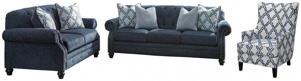 LaVernia - Sofa, Loveseat and Chair