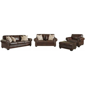 Roleson - Sofa, Loveseat, Chair and Ottoman