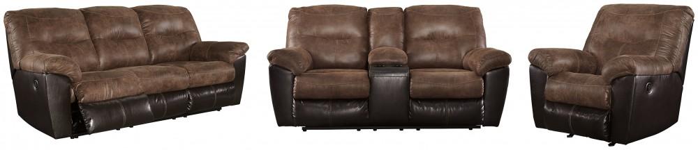 Follett - Sofa, Loveseat and Recliner