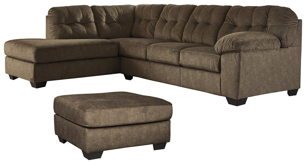 Accrington - 2-Piece Sectional with Ottoman