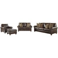 Nicorvo - Sofa, Loveseat, Chair and Ottoman