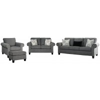 Agleno - Sofa, Loveseat, Chair and Ottoman