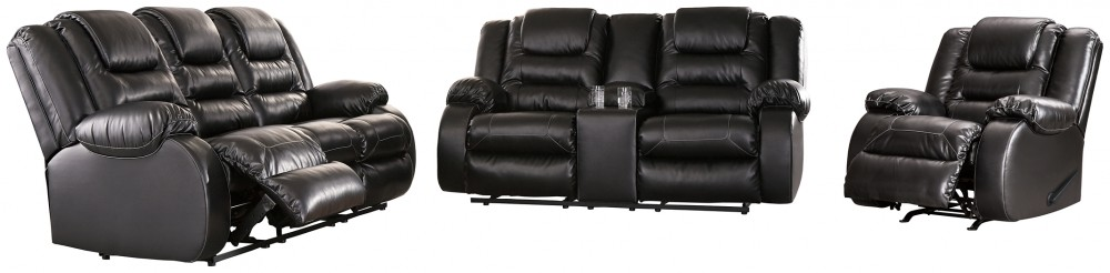 Vacherie - Sofa, Loveseat and Recliner