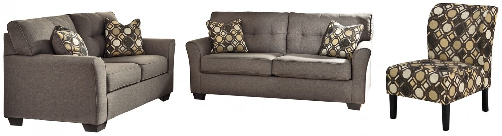 Tibbee - Sofa, Loveseat and Chair