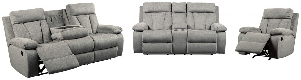 Mitchiner - Sofa, Loveseat and Recliner