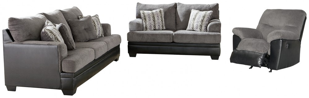 Millingar - Sofa, Loveseat and Recliner