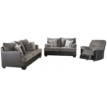 Millingar - Sofa, Loveseat and Recliner