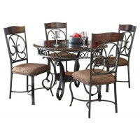 Glambrey - 5-Piece Dining Room Package
