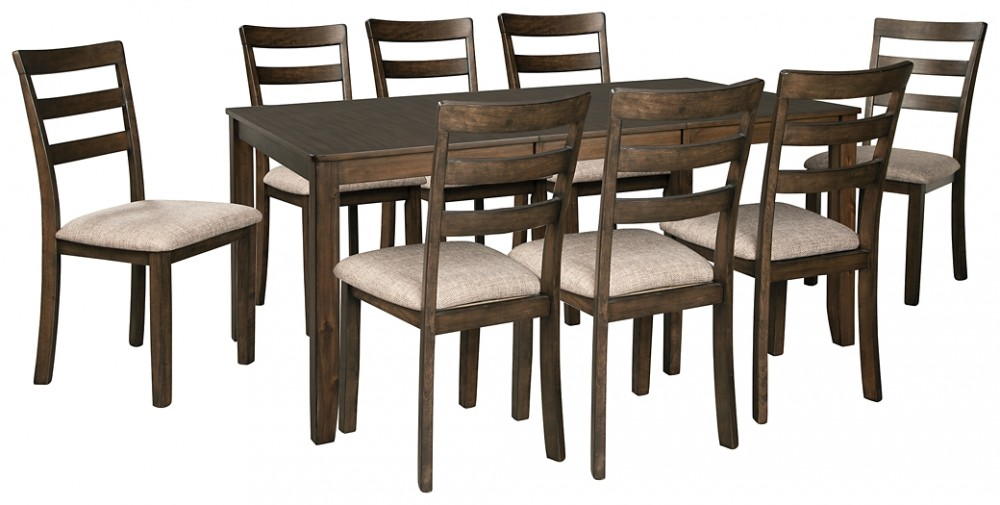 Drewing - Dining Table and 8 Chairs
