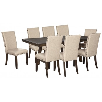 Rokane Dining Table And 8 Chairs D397 02 8 35