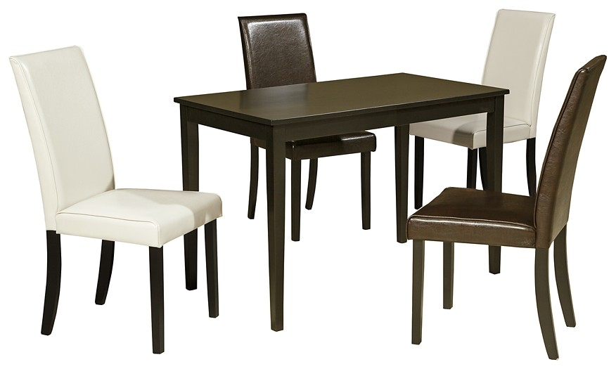 Kimonte - Dining Table and 4 Chairs