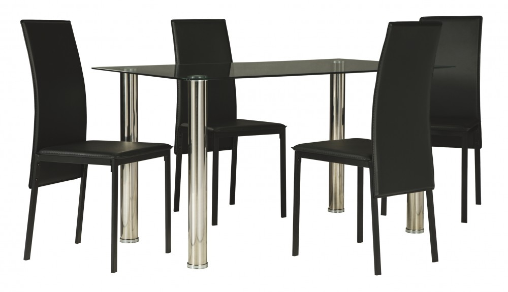 Sariden - Dining Table and 4 Chairs