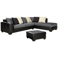 Jacurso - 2-Piece Sectional with Ottoman