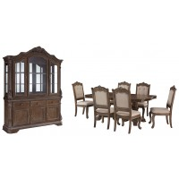 Charmond - Dining Table and 6 Chairs with Storage
