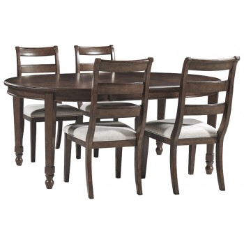 Adinton - Dining Table and 4 Chairs