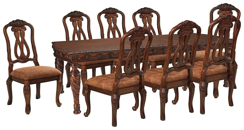 North Shore - Dining Table and 8 Chairs