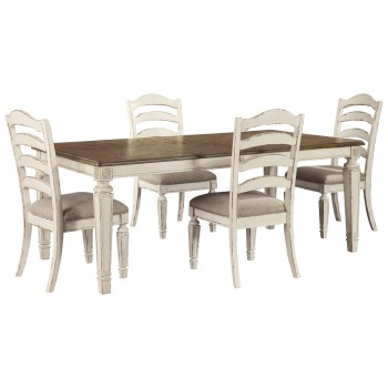 Realyn Dining Table And 4 Chairs D743 45 01 4 Dining Room Groups 901 Home Furniture Mattress Tn