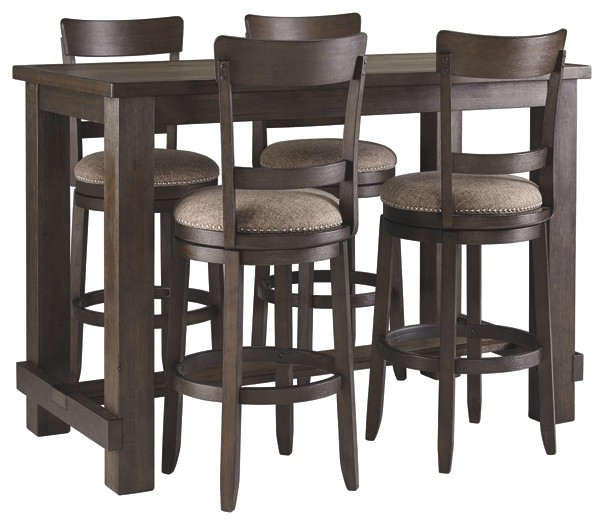 Drewing - Dining Table and 4 Chairs