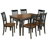 Owingsville - Dining Table and 6 Chairs