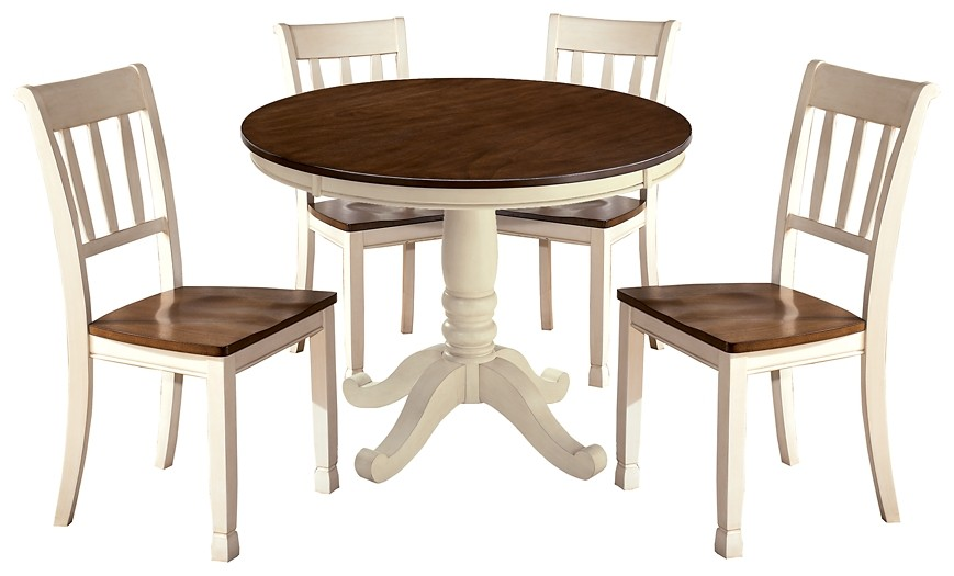Whitesburg - Dining Table and 4 Chairs