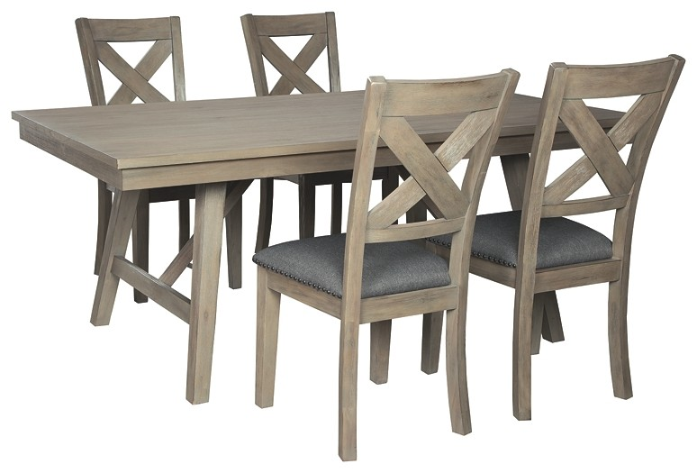 Aldwin - 5-Piece Dining Room Package