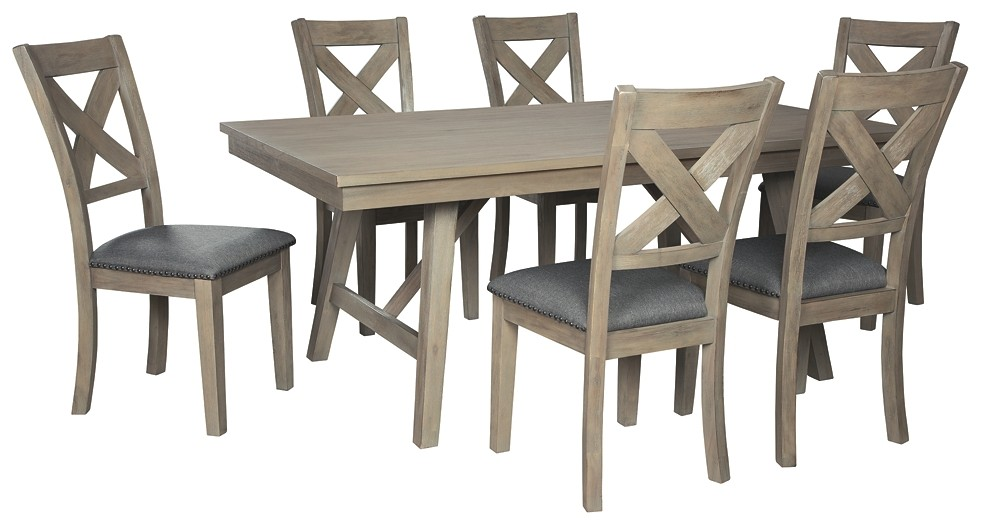 Aldwin - 7-Piece Dining Room Package