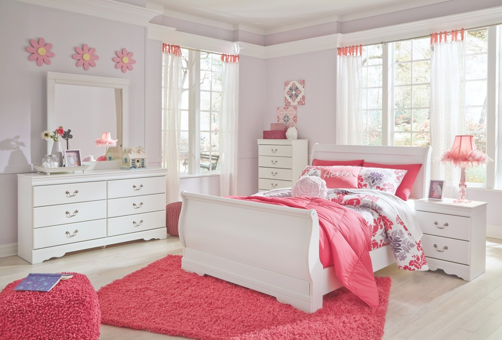 Anarasia - Full Sleigh Bed with Dresser