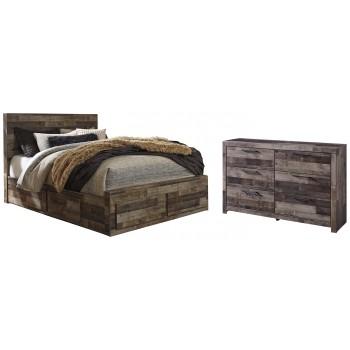 Derekson - 4-Piece Bedroom Package