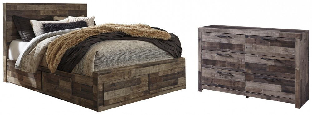 Derekson - Queen Bed with Dresser