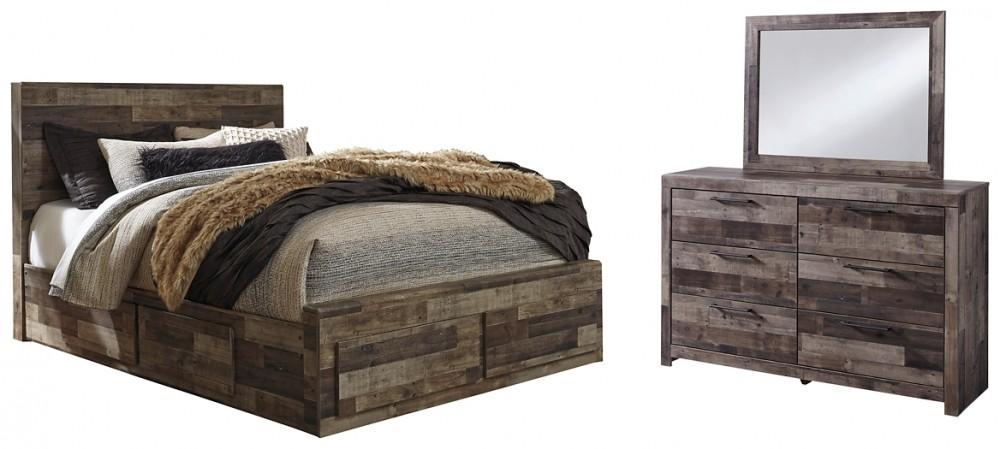 Derekson - 5-Piece Bedroom Package