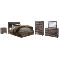 Derekson - 7-Piece Bedroom Package